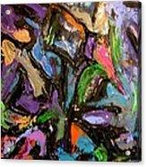 Abstrak Acrylic Print