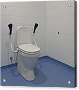 Accessible Toilet Acrylic Print by Jaak Nilson