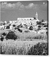 Achna Abandoned Greek Village Now Within The Un Buffer Zone In The Green Line Dividing Cyprus Acrylic Print