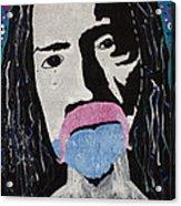 Acid Man Acrylic Print