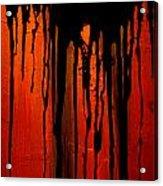 Acid Rain Acrylic Print