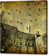 Industrial Acid Urban Sky Acrylic Print