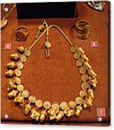 Acorn Necklace Acrylic Print