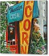 Acorn Theater Acrylic Print