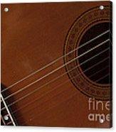 Acoustic Guitar 21 Acrylic Print