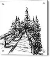 Across The Bridge Acrylic Print