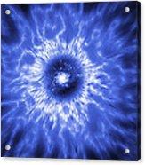 Active Galaxy, Conceptual Artwork Acrylic Print