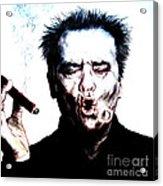 Actor Jack Nicholson Smoking  II Acrylic Print