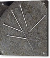 Acupuncture Needles Acrylic Print