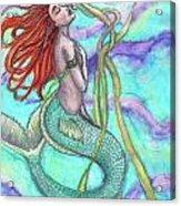 Adira The Mermaid Acrylic Print