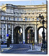 Admiralty Arch In Westminster London Acrylic Print