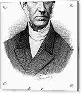 Adolphe Quetelet (1796-1874) Acrylic Print