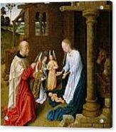 Adoration Of The Christ Child  Acrylic Print