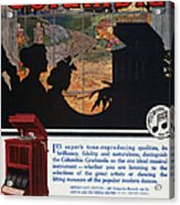 Ads: Phonograph, 1914 Acrylic Print