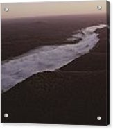 Aerial Of The Buffalo River Acrylic Print by Randy Olson