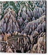 Aerial View Landscape Acrylic Print by Julio López Saguar