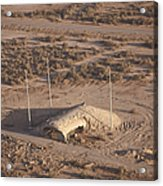 Aerial View Of A Destroyed Iraqi Acrylic Print