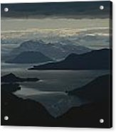 Aerial View Of The Sound Acrylic Print