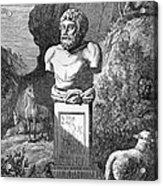Aesop, Ancient Greek Fabulist Acrylic Print by