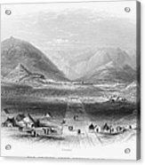 Afghan War 1839-1842. For Licensing Requests Visit Granger.com Acrylic Print