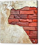 Africa In Bricks Acrylic Print