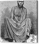 Africa: Yao Chief, 1889 Acrylic Print