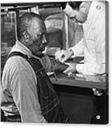 African American Patient Receiving Acrylic Print by Everett