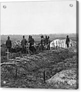 African-american Soldiers Of The 321st Acrylic Print