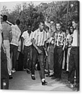 African American Students Arrive Acrylic Print by Everett