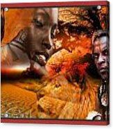 African Mother Acrylic Print