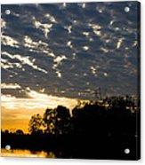 African Sunrise 3 Acrylic Print