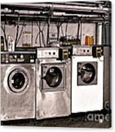 After Enlightenment The Laundry. Acrylic Print