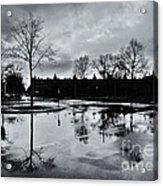Den Haag After The Rain Acrylic Print