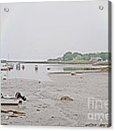 After The Rain Kennebunkport Maine Acrylic Print