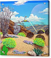 Afternoon Attack Acrylic Print