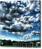 Afternoon By The Bridge 2 Acrylic Print by Heather  Boyd