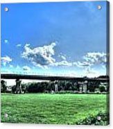 Afternoon By The Bridge 3 Acrylic Print