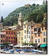 Afternoon In Portofino Acrylic Print