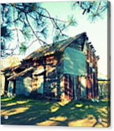 Afternoon Light On Barn Acrylic Print