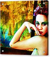 Afternoon Of A Wood Nymph Acrylic Print