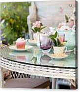 Afternoon Tea And Cakes Acrylic Print