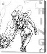 Agent Dunham Acrylic Print by Big Mike Roate