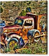 Aging Truck Acrylic Print