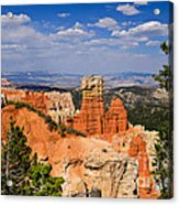 Agua Canyon Bryce Canyon National Park Acrylic Print