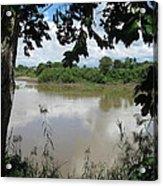 Agusan River Near Ja Pao Acrylic Print