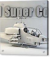 Ah-1 Super Cobra Acrylic Print