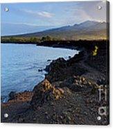 Ahihi Preserve And Haleakala Maui Hawaii Acrylic Print