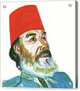 Ahmed Messali Hadj Acrylic Print