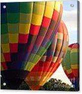 Air Balloon Last Call Acrylic Print