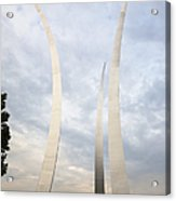 Air Force Memorial Acrylic Print by Roberto Westbrook